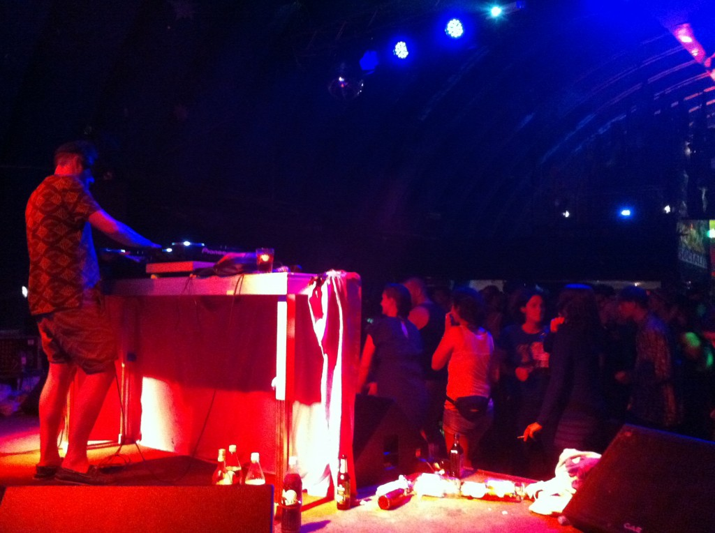 Daniel Haaksman at Salon de Baile, Fusion 2012