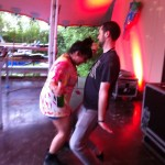 Jubz and Andy getting down to my set at Fusion 2012