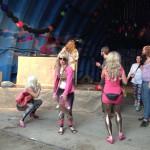 My impromptu dancers