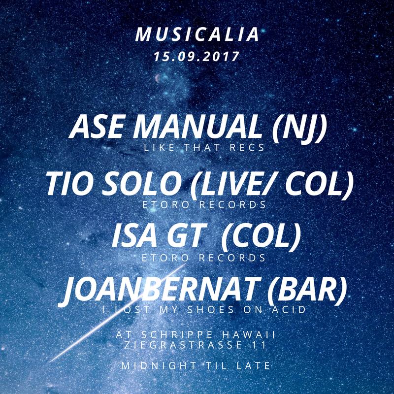 MUSICALIA Sept 2017