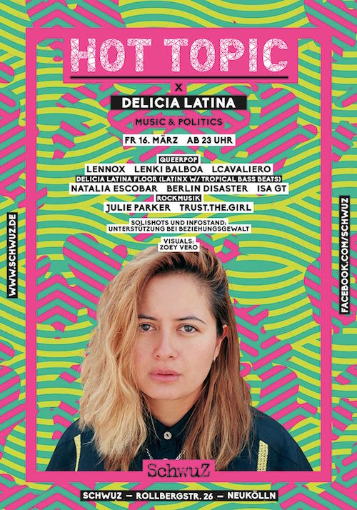 Delicia Latina March 2018 for news